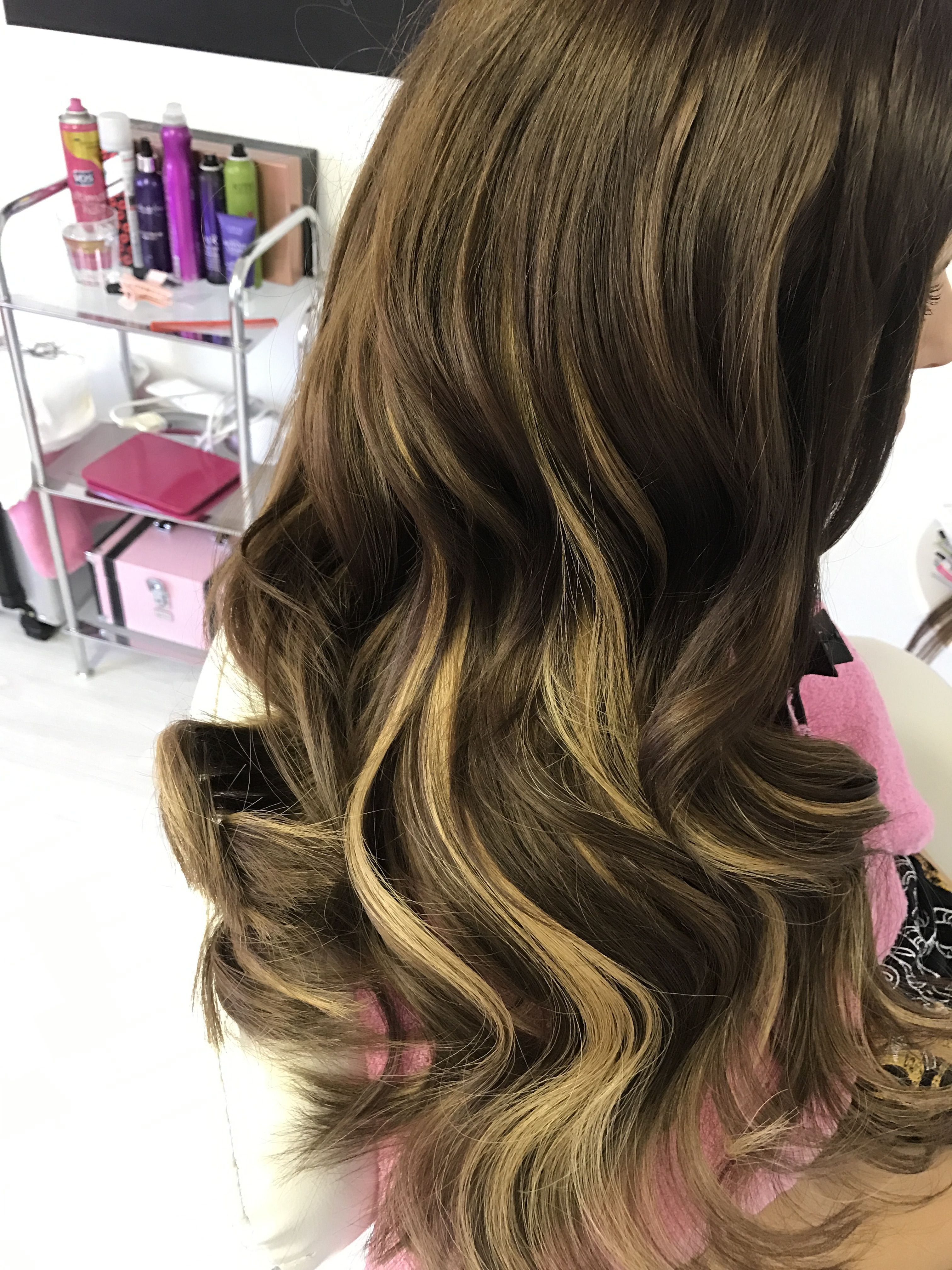 Adding Colour Using Hair Extensions By Mychellecaroline Hair