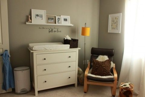 Great Use Of Ikea S Hemnes Dresser As A Baby Changing Table Then