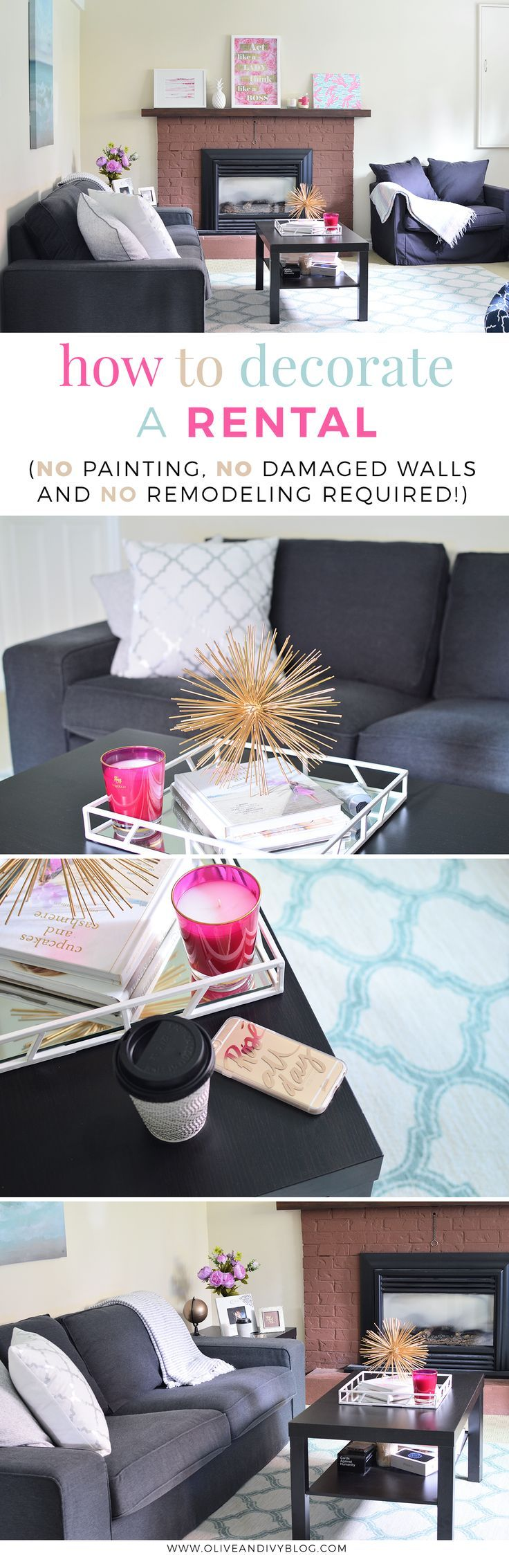 Decorate your rented flat to make it really feel like home ...