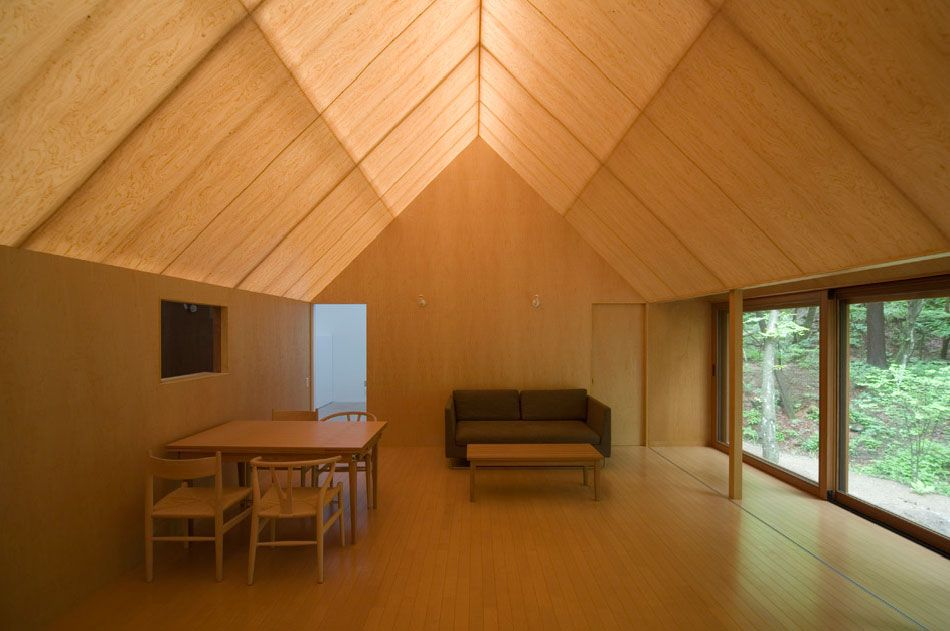 Go hasegawa house in the forrest karuizawa 2006 via 2 for Karuizawa architecture