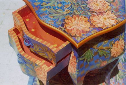 Please show us your painted furniture & household objects! - Decorative & Tole Painting Forum - GardenWeb