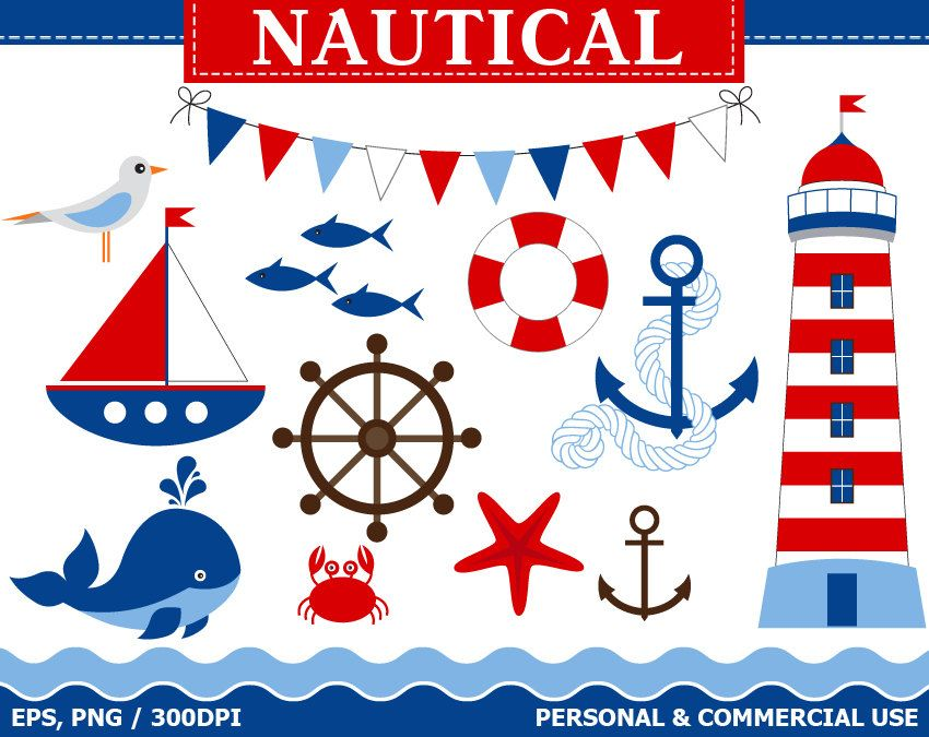 for nautical clip art .   Baby   Pinterest   Popular, Nautical and ...