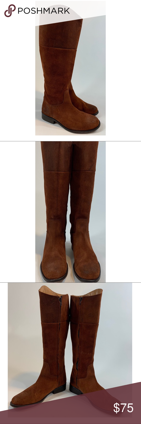 83c0099f197 Steven Steve Madden Reins size 8.5 tall suede These are a gently used pair  of Steven