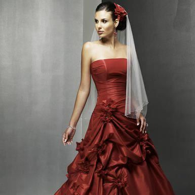 Brick Red Bridesmaid Dresses