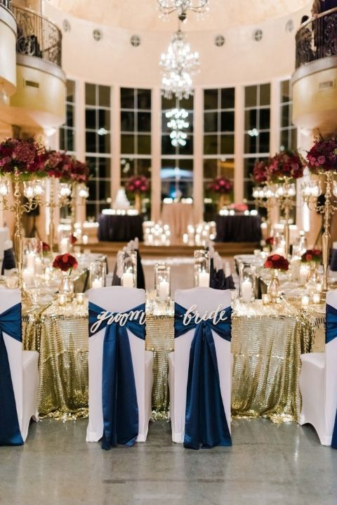 navy blue is the wedding color scheme you ll never regret weddings