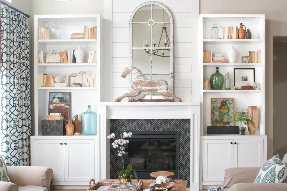 25 Inspiring Fireplaces With Beautiful Tile Fireplace Surrounds