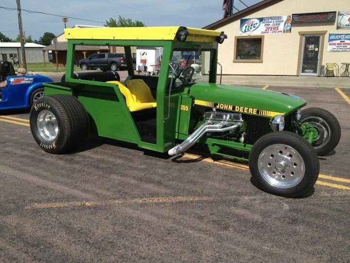 hot rod tractor!   john deere stuff   tractors, cars ... hot rod tractor wiring hot rod basic wiring diagram sbc with hei
