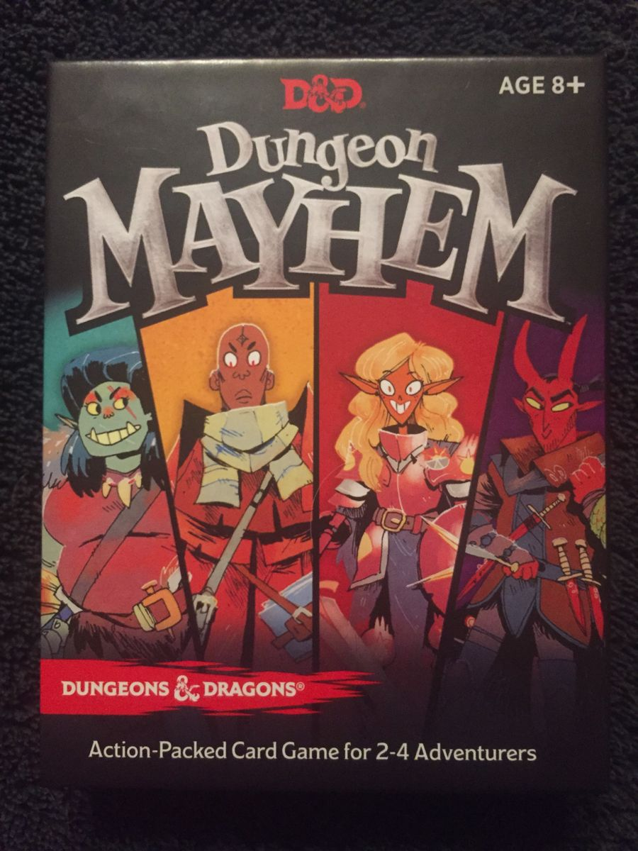 D&D Dungeon Mayhem. Party game 24 players based off