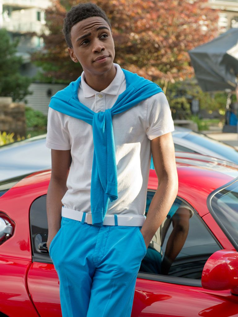 Swindle Nickelodeon Movie | Model Status|Chris must be getting some serious fashion tips from his ...