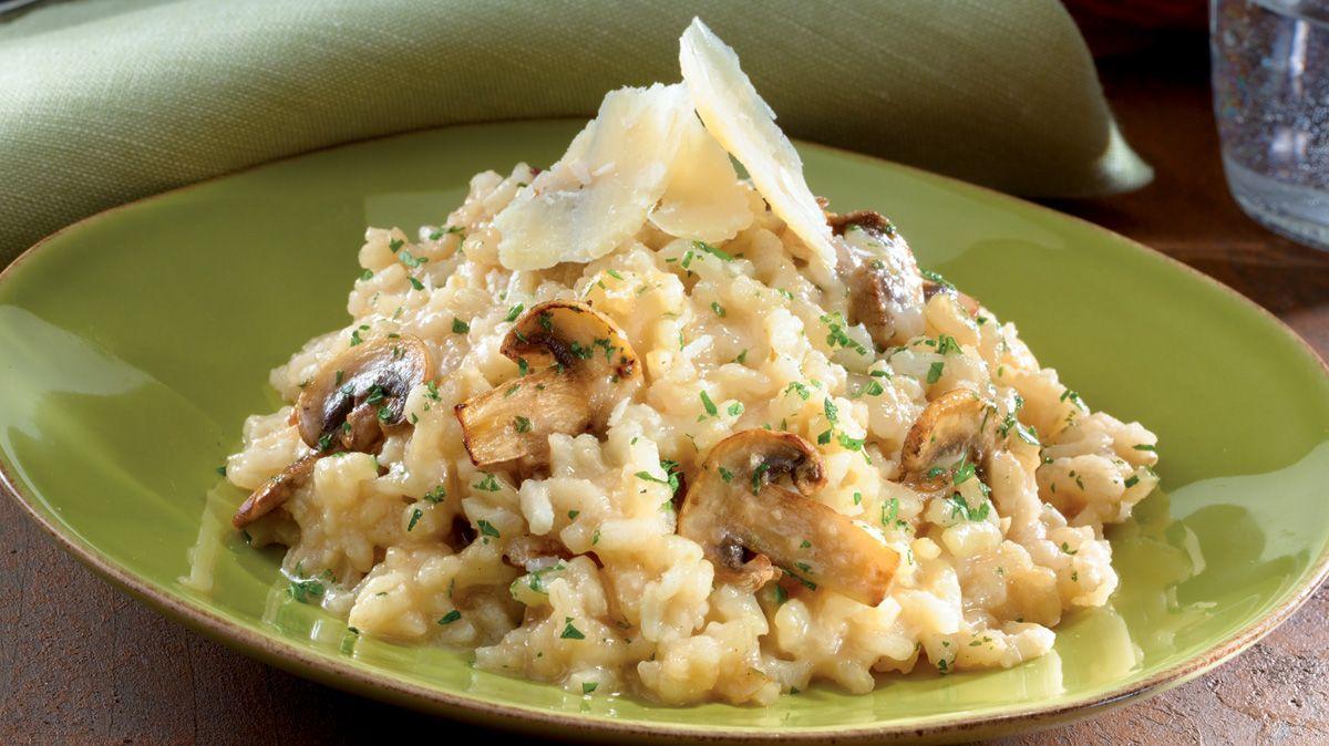 Chicken Mushroom Rice Risotto Recipe