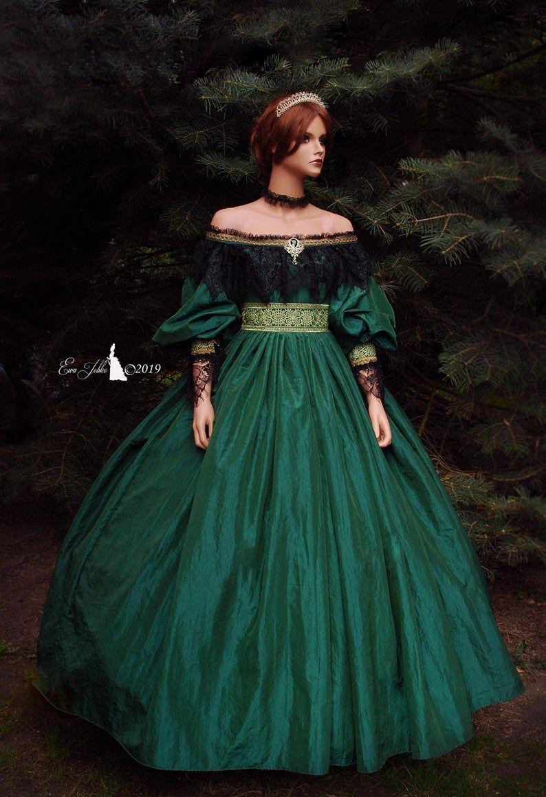 Dress Queen Victoria Historical Victorian Etsy Victorian Dress Gown Queen Dress Victorian Gown [ 1160 x 794 Pixel ]