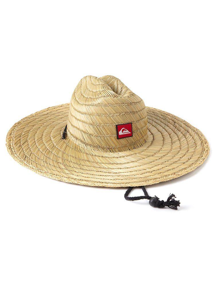 Quiksilver Men/'s Pierside Straw Sun Hat