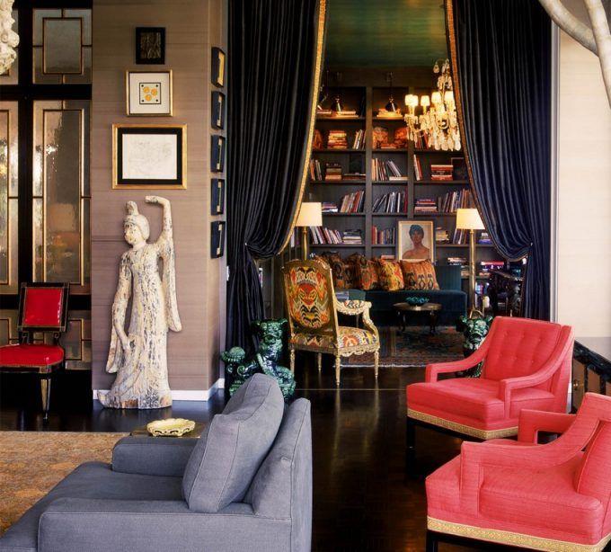 Doheny Residence Project By Kelly Wearstler Top Innenarchitekten