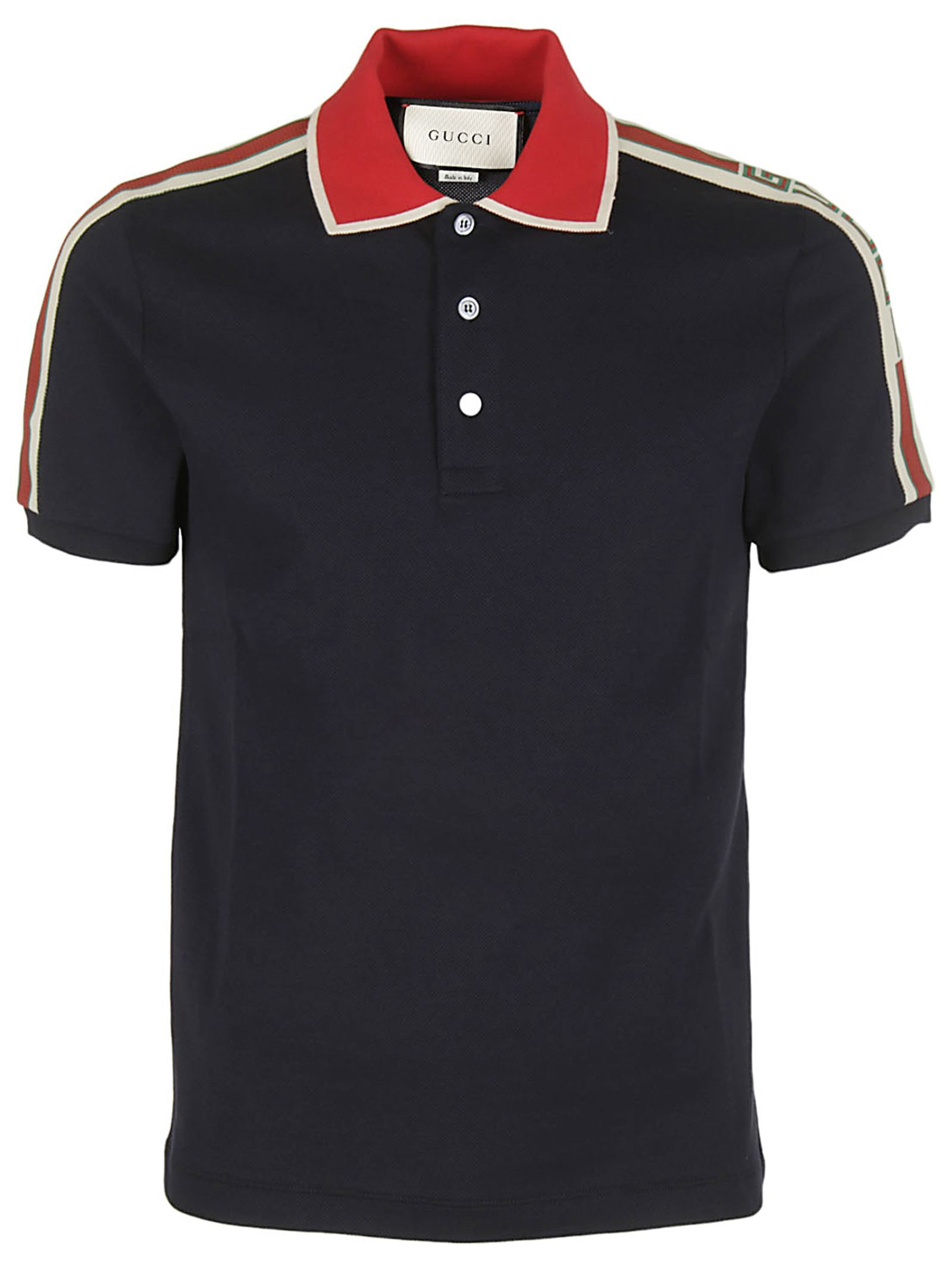 8dcb17620 GUCCI STRIPE POLO SHIRT. #gucci #cloth # | Men's | Striped polo ...