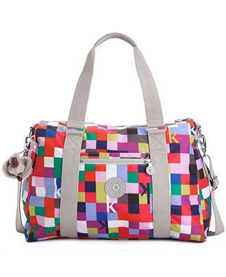 Kipling Handbag Itska Print Duffle Handbags Accessories Macy S