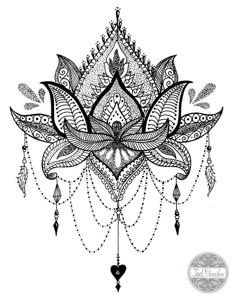 mandala tattoo dotwork - Google Search | dibujos | Pinterest ...