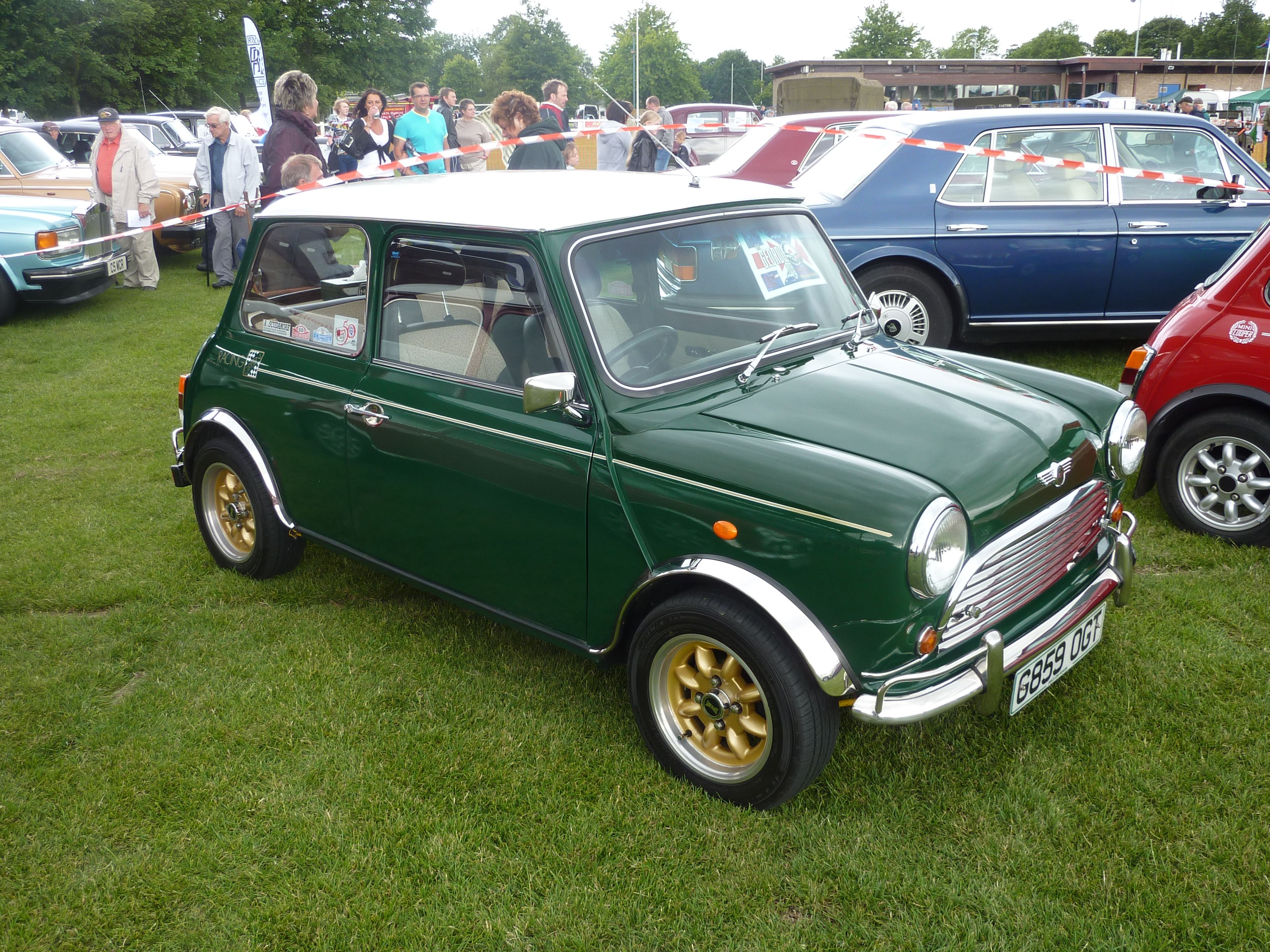 british racing green mini cooper Cool Wheels ! Mini