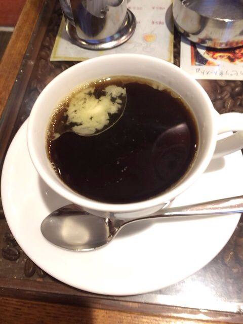 this drink is cafe mexcan! black suger&butter!