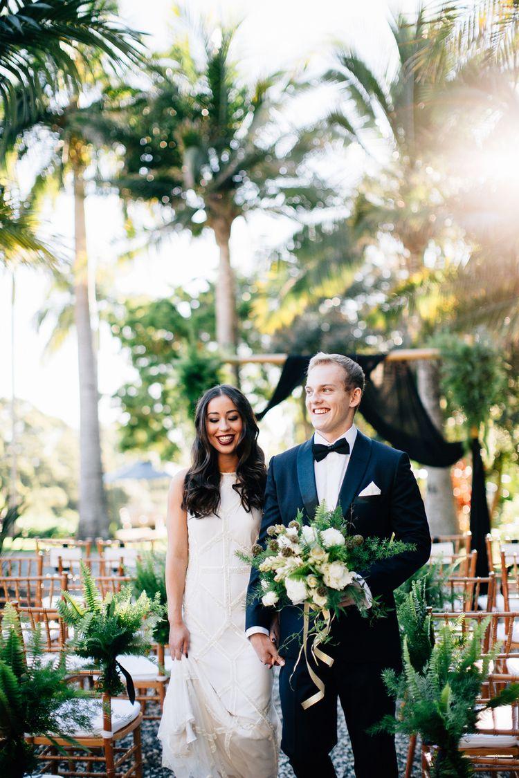 Hampton Event Hire Ceremony Furniture Styling By Little Gray Station Servicing Luxe WeddingGold CoastBrisbaneWedding