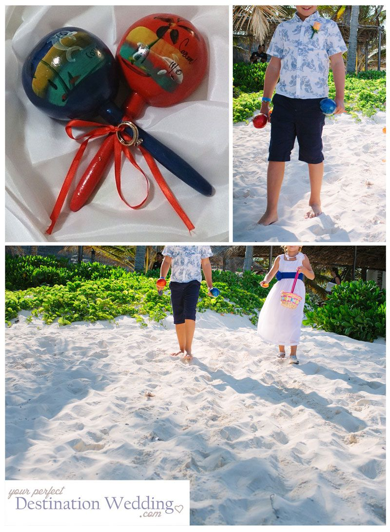 Mexican Wedding €� Ring Bearer Maracas Your Perfect Destination Fab Idea And A Little Bit Different For Beach: Beach Wedding Little Ring At Websimilar.org