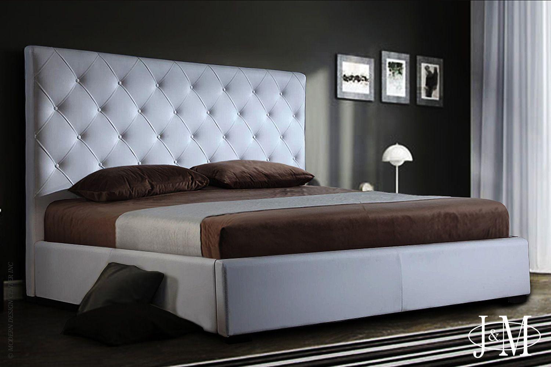 Zoe Storage Bed Queen Size in White J&M Furniture