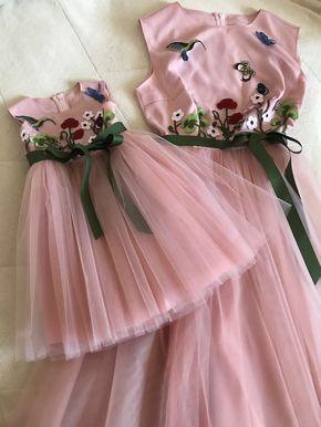 9c9bdcb37138e3f Шьем детское, подростковое Нарядное платье   đồ đôi mẹ bé   Baby Dress, Baby  và Mother daughter fashion