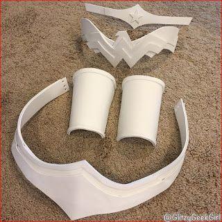 omglitzy tutorial wonder woman cosplay costume wonder. Black Bedroom Furniture Sets. Home Design Ideas