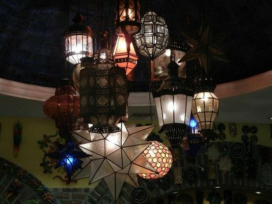 Chandelier made from eclectic lanterns by frostingwarrior chandelier made from eclectic lanterns by frostingwarrior aloadofball Gallery