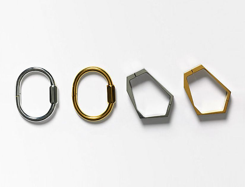 celine screw & facet bracelets. via www.andyheart.com