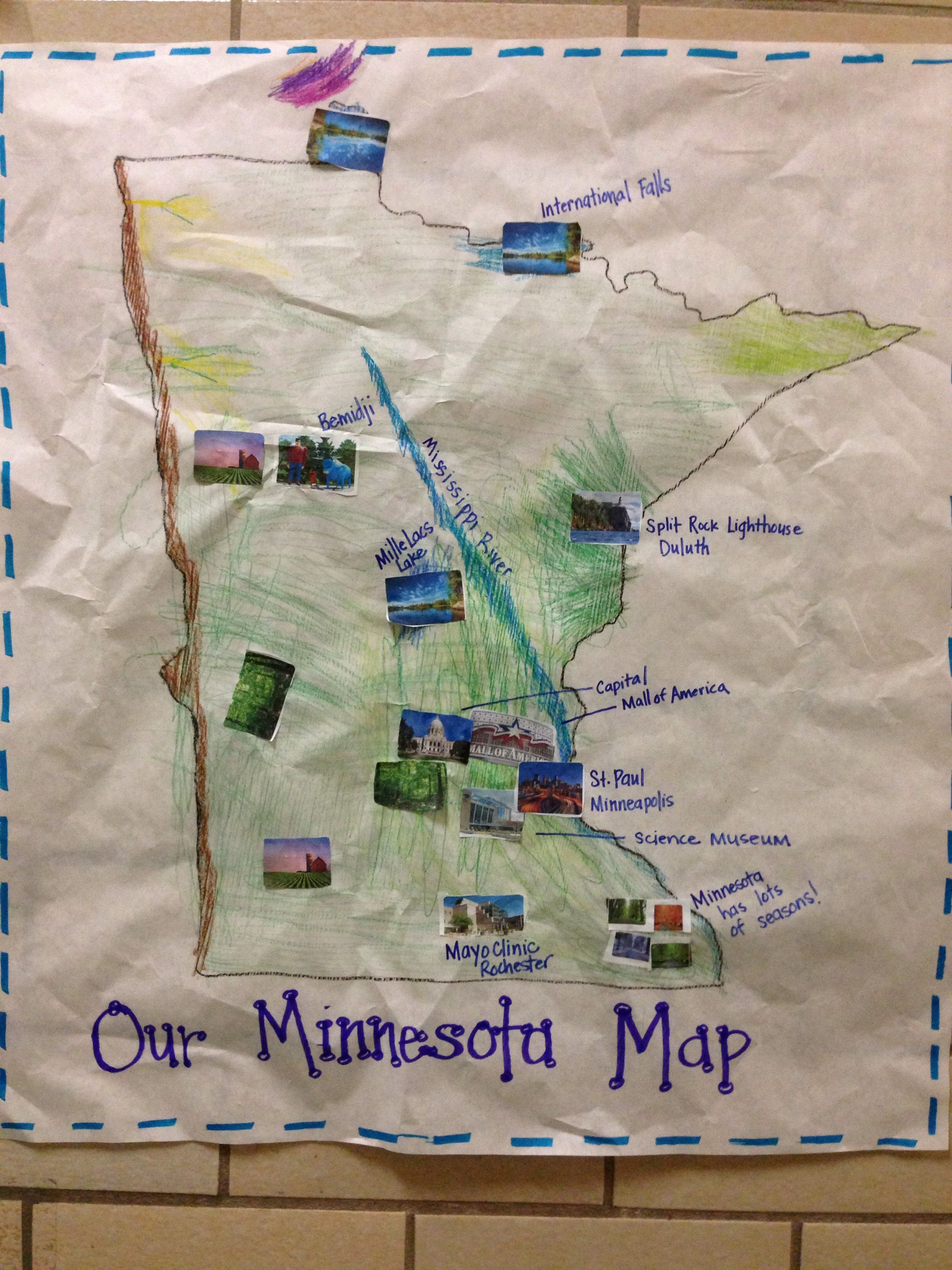 Trace a large outline of Minnesota. Use a map to help add ... on large map of dfw area, large map of chicago area, large map of the netherlands, large map of white mountains, large map of southern england, large map of tennessee state, large map of new hampshire, large map of ny state, large map of green bay, large map of stockton ca, large map of downtown chicago, large map of northern florida, large map of mississippi river, large map of new york city, large map of the world, large map of palm coast, large map of murrieta ca, large map of west texas, large map of new england, large map of china provinces,