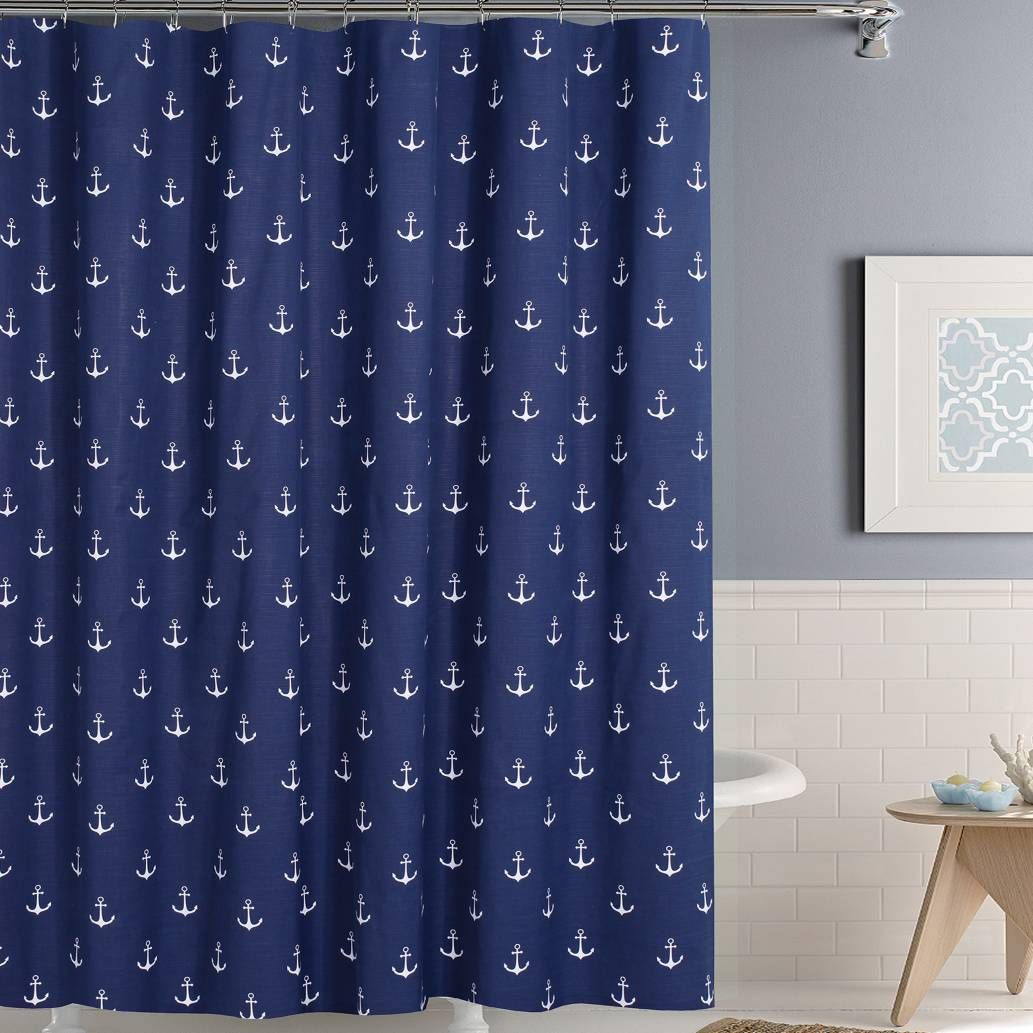 product image for Anchors Away Shower Curtain   House stuff ...