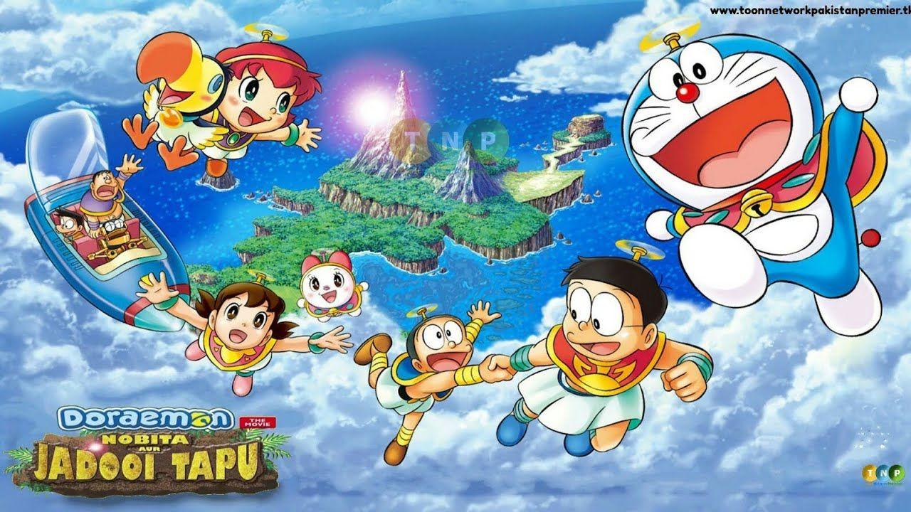 final part doraemon the movie nobita aur jadooi tapu in hindi hungama tv kartun doraemon latar belakang animasi