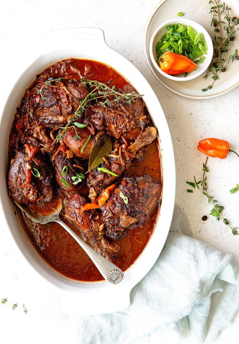 brown stew chicken  recipe  stew chicken recipe brown