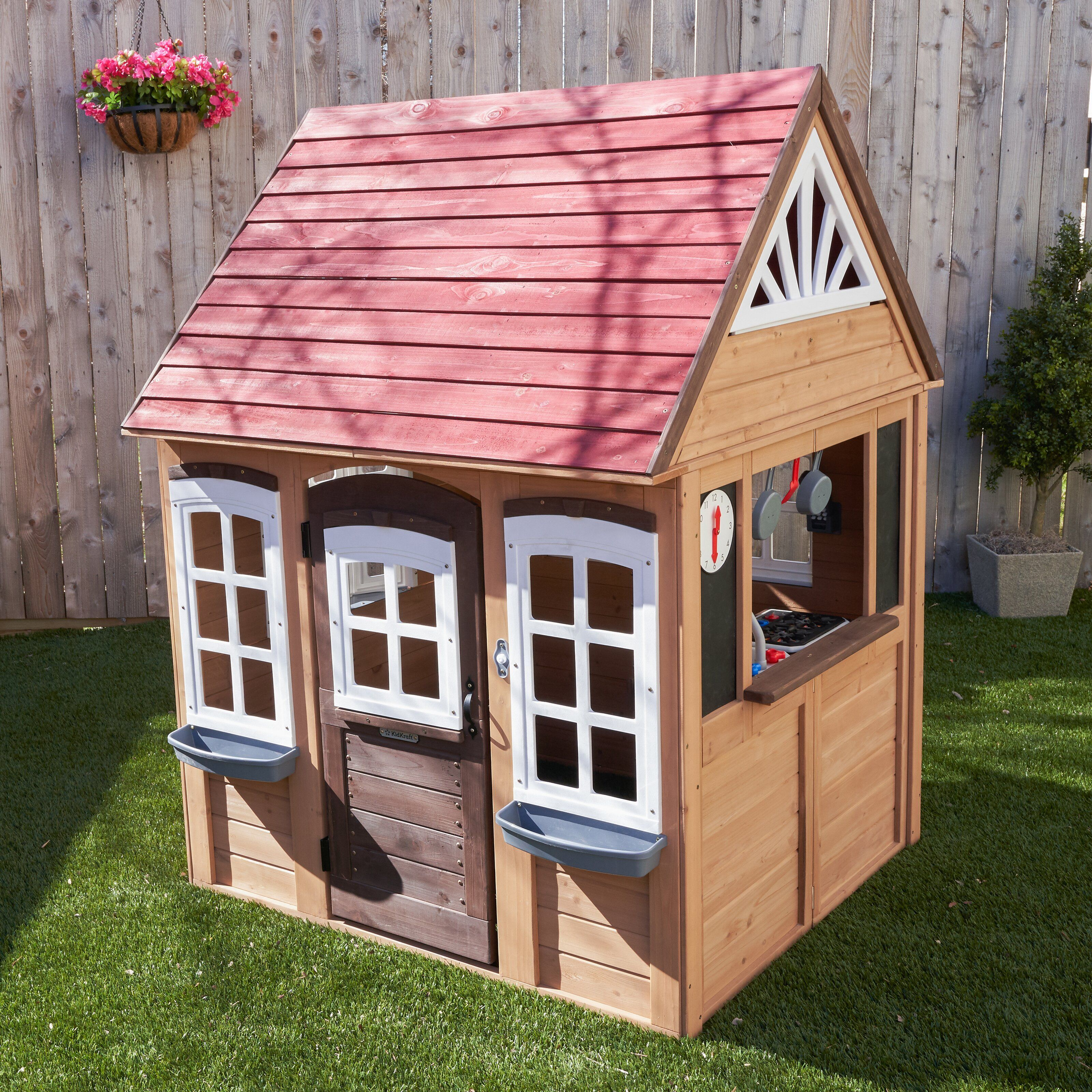 Spielhaus Fairmeadow In 2021 Spielhaus Aus Holz Spielhaus Haus