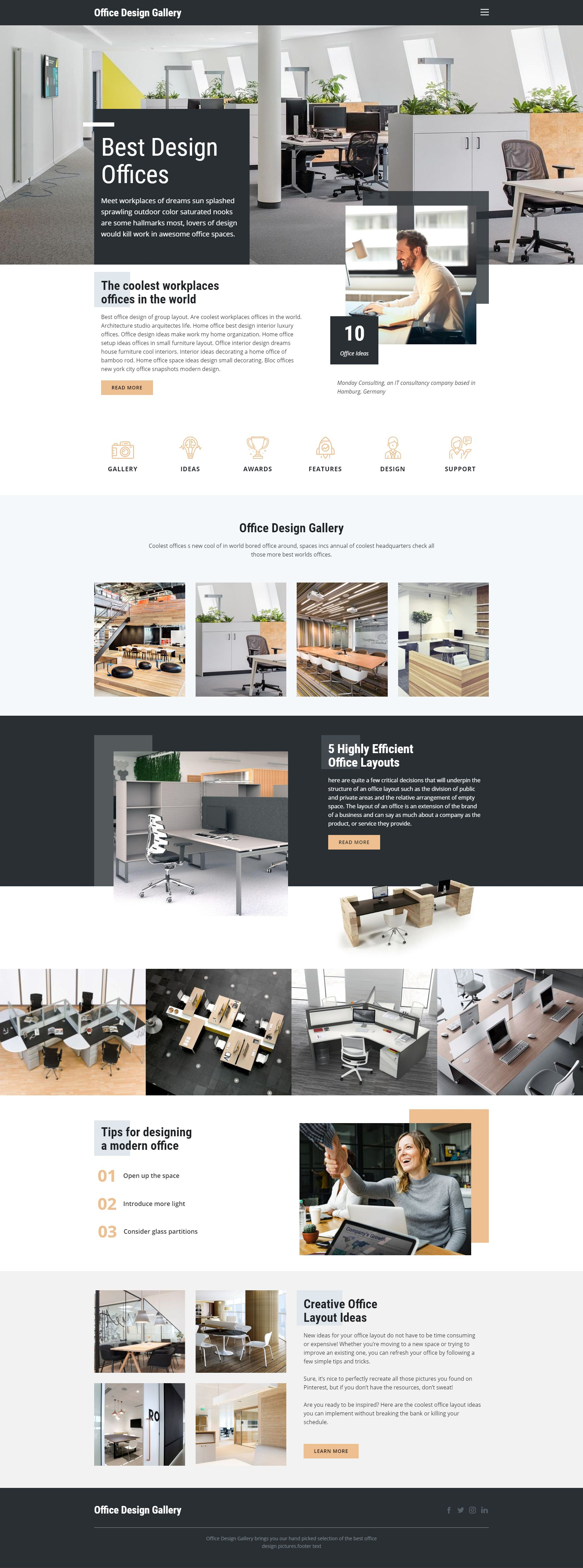 Click And Start Edit This Web Template Wordpress Theme And Joomla Template Nicepage New R Responsive Web Design Modern Web Design Interior Design Website