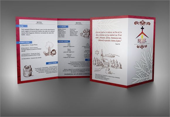 Church Bulletin Template  My    Churches Template And