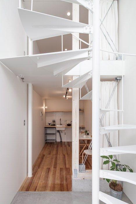 Skinnyhouse en jap n la nueva tendencia de las casas - Casas estrechas y largas ...