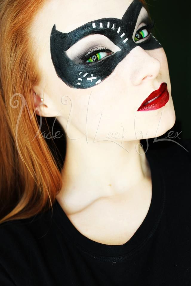 Cat Woman Mask Burglar Costume Diy Catwoman Costume