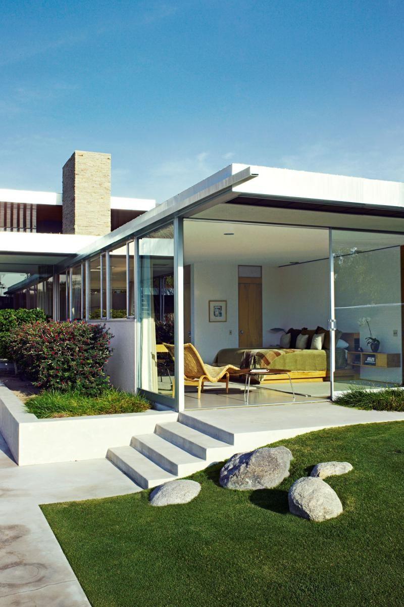 Kaufmannhousesteps architecture u more pinterest house mid