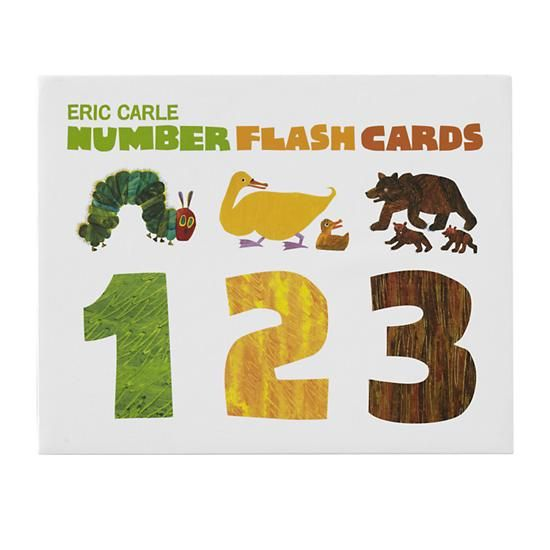 The Land of Nod | Eric Carle Number Flash Cards in Baby Toys