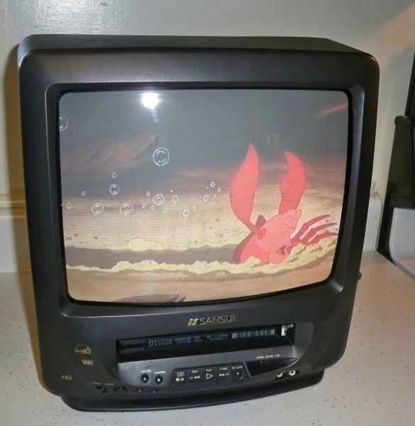 TV/ VCR combo