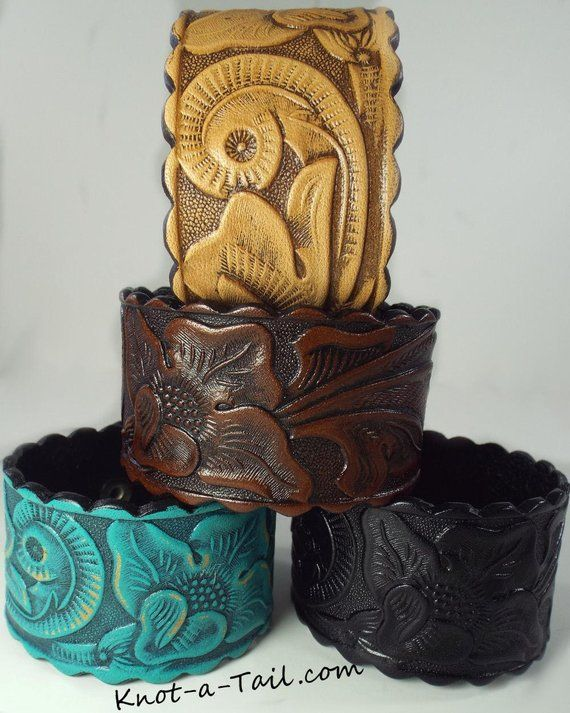 Leather Bracelet Western Cow Hand