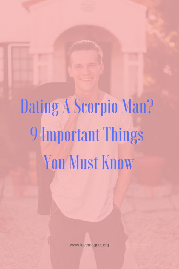 Dating a scorpio man bloggers