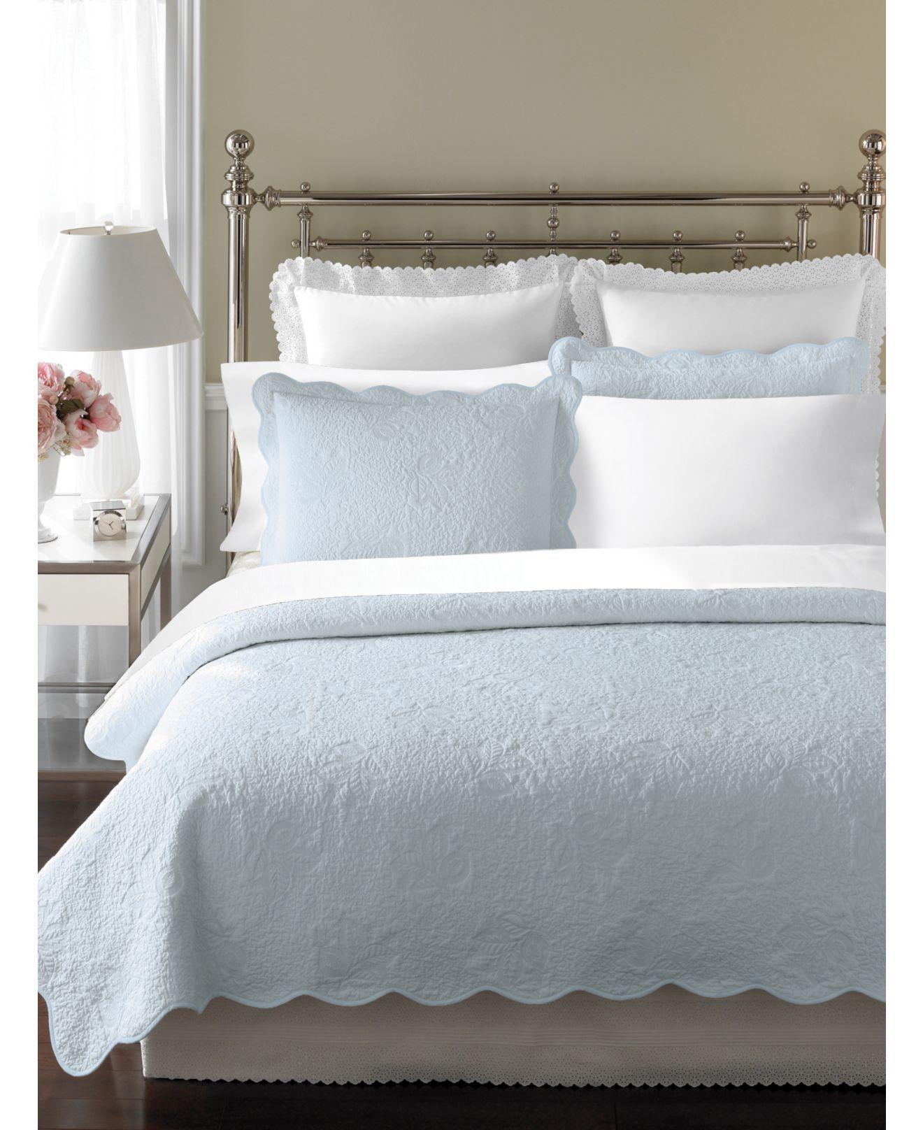 Martha Stewart Bedroom Furniture Martha Stewart Collection Bedding Stenciled Leaves King Quilt