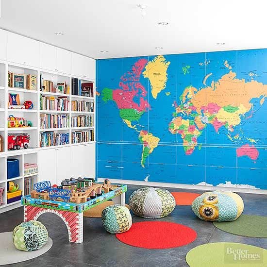 Playrooms are meant to be fun, and these kids playroom ideas deliver loads of it. Get inspired with these kids playroom ideas—playroom storage and decor have never looked better.