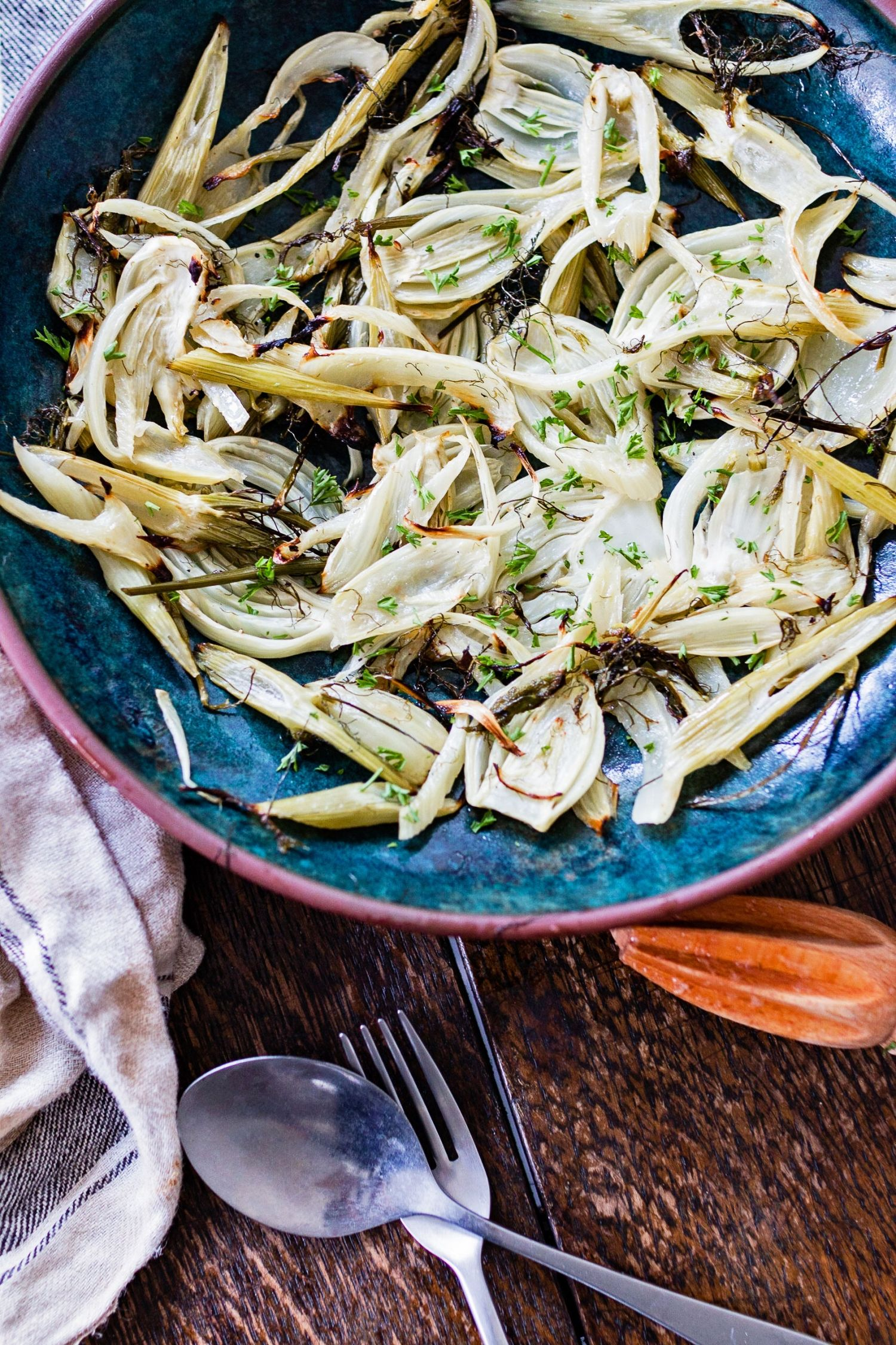 Simple Grilled Fennel With Lemon Juice
