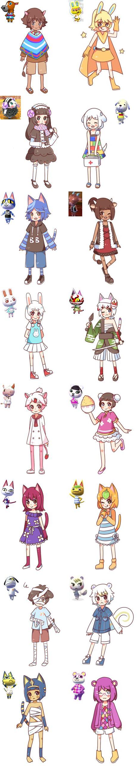Human Crossing Animal Crossing Characters Animal Crossing