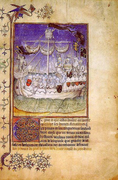 Le canarien. El códice Egerton 2709 o texto G. Detalle de la expedición de Jean IV de Béthencourt y Gadifer de La Salle a las islas Canarias. Adquirido por el Museo Británico en 1888, y conservado actualmente en la Biblioteca Británica, el códice Egerton 2709 --también denominado texto G-- es la versión más antigua conocida de Le Canarien --elaborada entre 1404 y 1420--, atribuyéndose la misma al propio Gadifer de La Salle