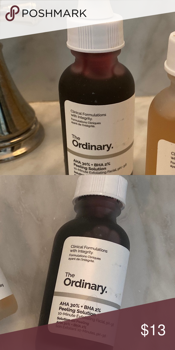 The Ordinary Skincare AHA/BHA serum The ordinary