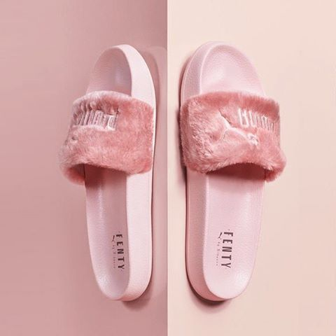 2669f549046f The PUMA x Rihanna Slides are back. Well...they were.